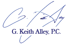 G. Keith Alley, P.C. Header Logo